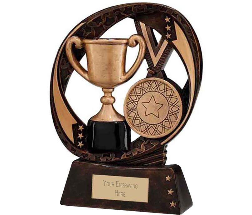 "Typhoon Achievement Award Trophy 13cm (5"")"