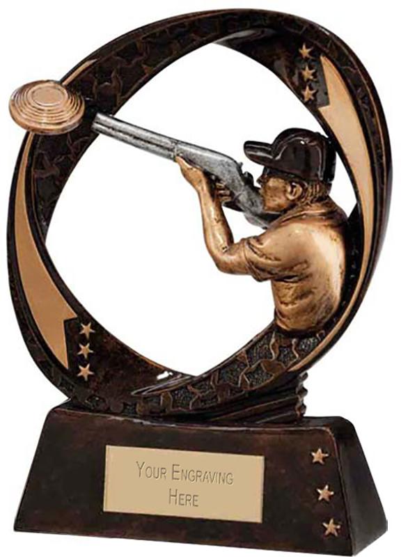 "Typhoon Clay Pigeon Trophy 13cm (5"")"
