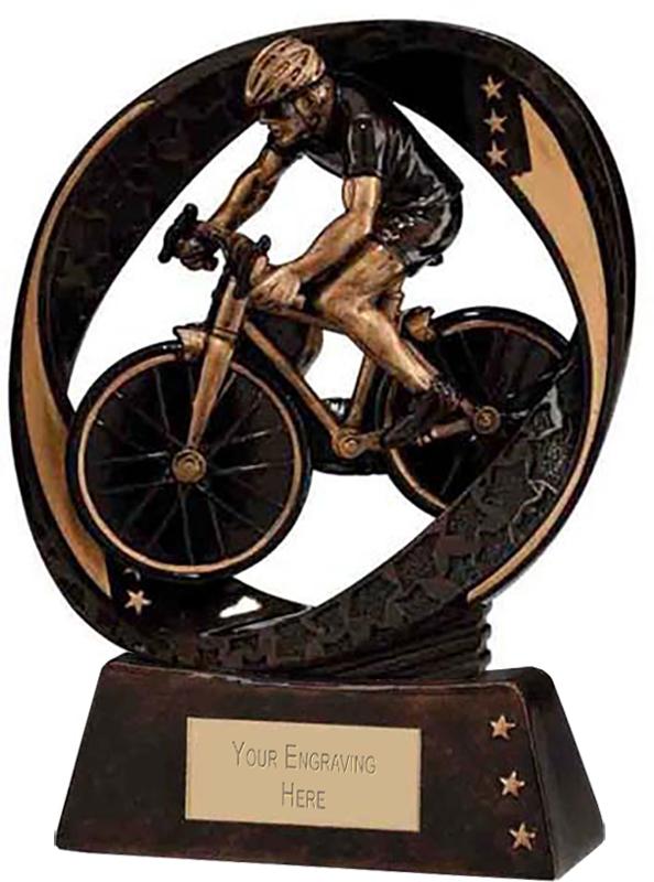"Typhoon Cycling Trophy 13cm (5"")"