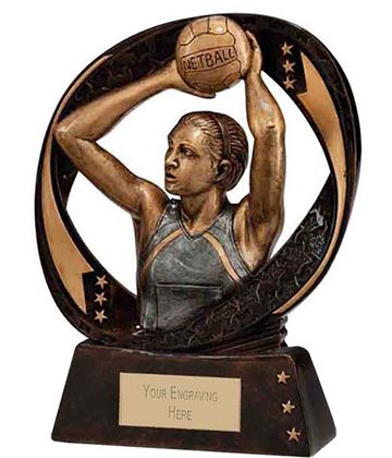 "Typhoon Netball Trophy 13cm (5"")"