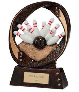 "Typhoon Ten Pin Bowling Trophy 13cm (5"")"