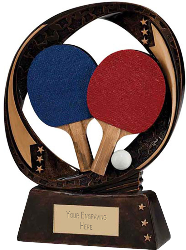 "Typhoon Table Tennis Trophy 13cm (5"")"