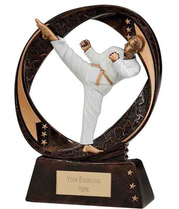 "Typhoon Martial Arts Trophy 13cm (5"")"
