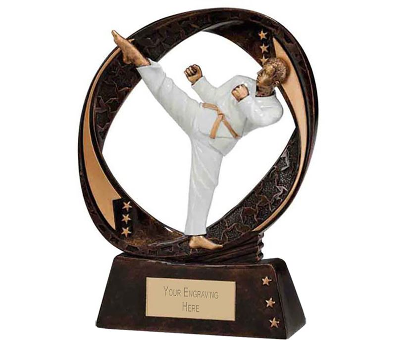 "Typhoon Martial Arts Trophy 13cm (5"")"