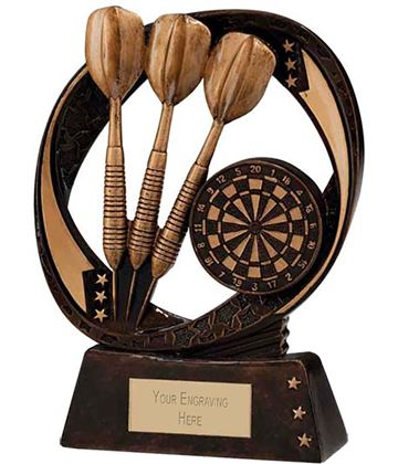 "Typhoon Darts Trophy 13cm (5"")"