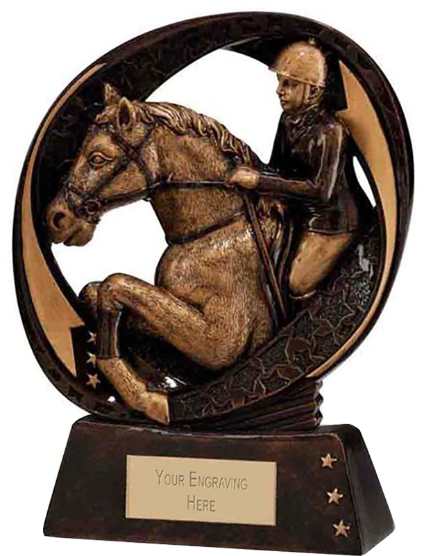 "Typhoon Equestrian Trophy 13cm (5"")"