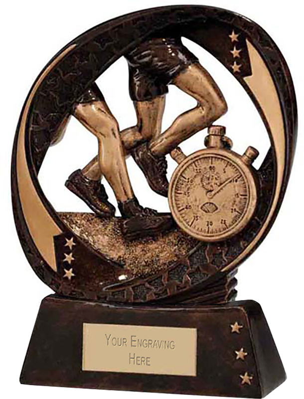 "Typhoon Running Trophy 13cm (5"")"