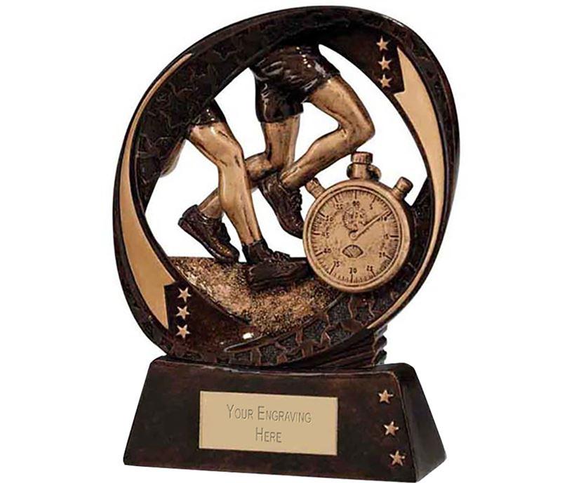 "Typhoon Running Trophy 13cm (5"")"