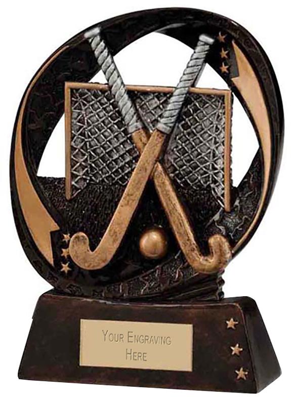 """Typhoon Field Hockey Trophy 13cm (5"""")"""