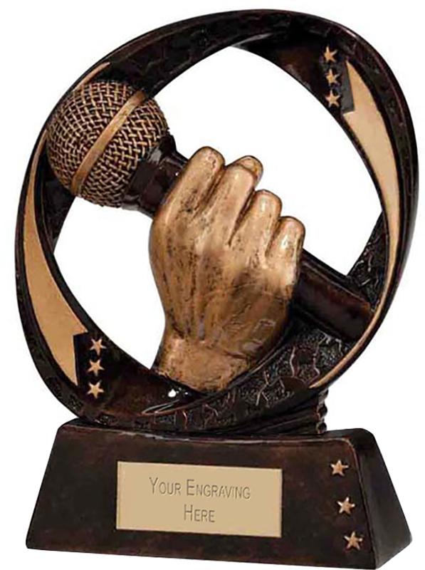 """Typhoon Karaoke Trophy 13cm (5"""")"""