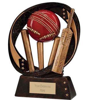 "Typhoon Cricket Trophy 13cm (5"")"