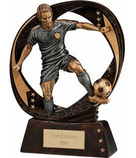 "Typhoon Football Figure Trophy 13cm (5"")"