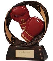 "Typhoon Boxing Trophy 13cm (5"")"