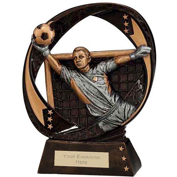 """Typhoon Goalkeeper Trophy 17cm (6.75"""")"""