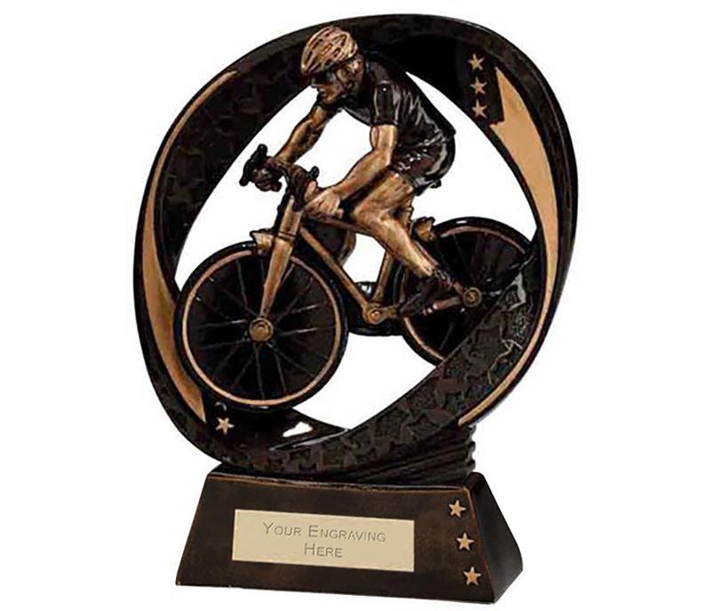 "Typhoon Cycling Trophy 17cm (6.75"")"