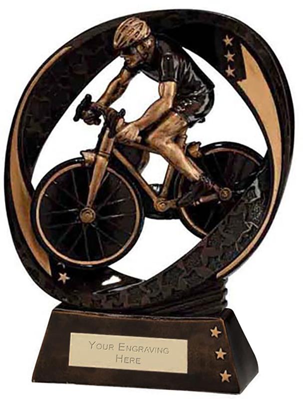 "Typhoon Cycling Trophy 19cm (7.5"")"