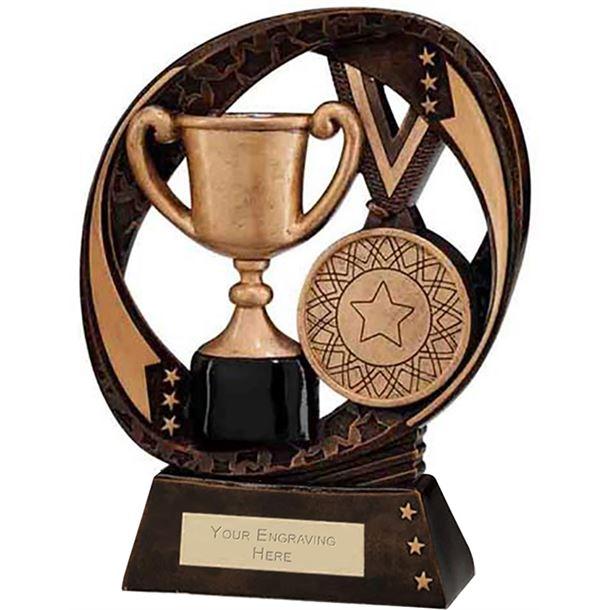 "Typhoon Achievement Award Trophy 17cm (6.75"")"