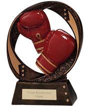 "Typhoon Boxing Trophy 19cm (7.5"")"