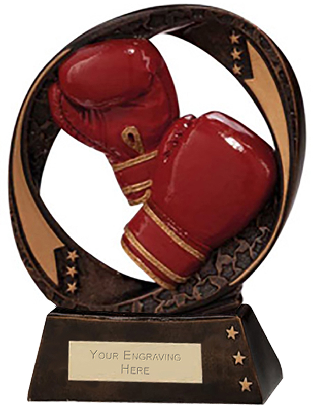 "Typhoon Boxing Trophy 17cm (6.75"")"