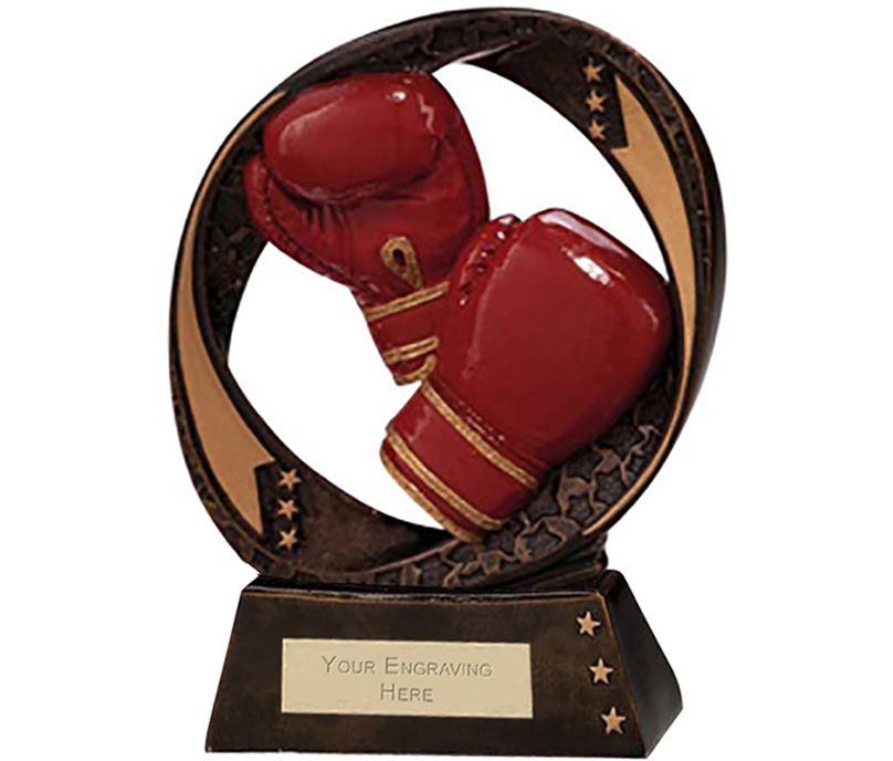 "Typhoon Boxing Trophy 17cm (6.75"")"
