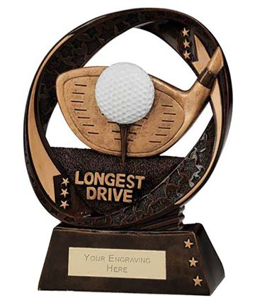 "Typhoon Longest Drive Trophy 17cm (6.75"")"