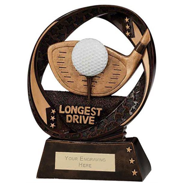 "Typhoon Longest Drive Trophy 17cm (6.75"")"