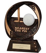 "Typhoon Nearest The Pin Trophy 17cm (6.75"")"