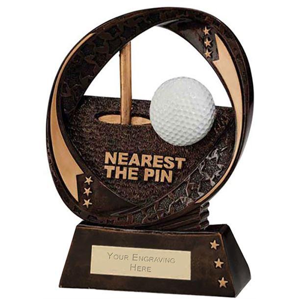 """Typhoon Nearest The Pin Trophy 17cm (6.75"""")"""
