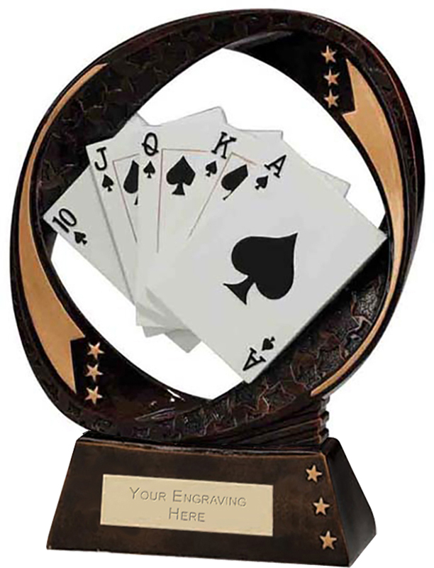 "Typhoon Cards Trophy 17cm (6.75"")"