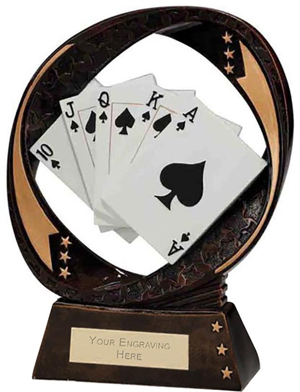 "Typhoon Cards Trophy 17cm (6.75"")"
