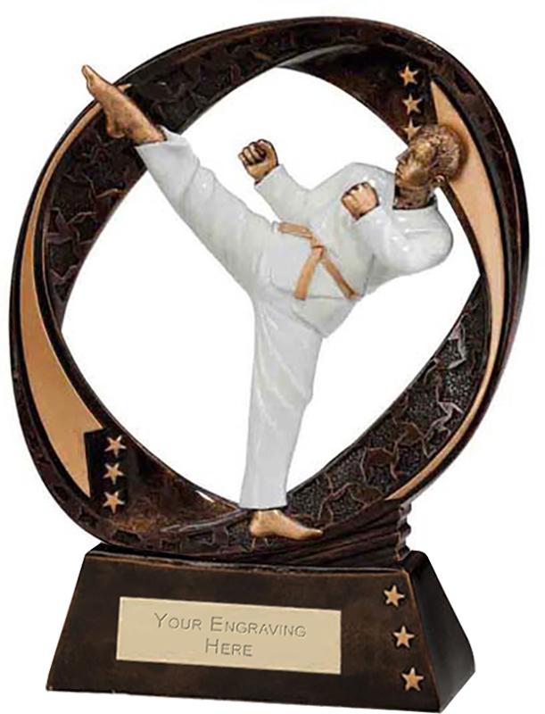 "Typhoon Martial Arts Trophy 17cm (6.75"")"