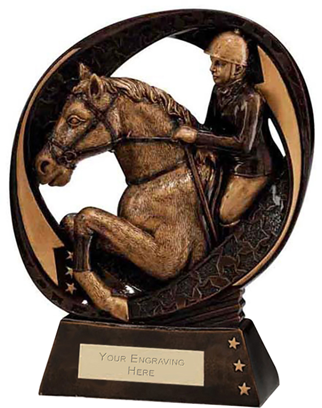 "Typhoon Equestrian Trophy 17cm (6.75"")"
