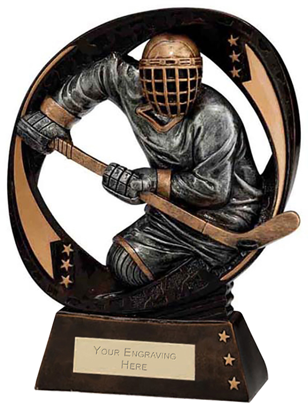 "Typhoon Ice Hockey Trophy 17cm (6.75"")"