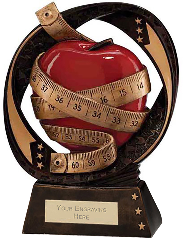 "Typhoon Slimming Trophy 17cm (6.75"")"