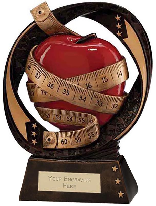 "Typhoon Slimming Trophy 17cm (6.75"")"