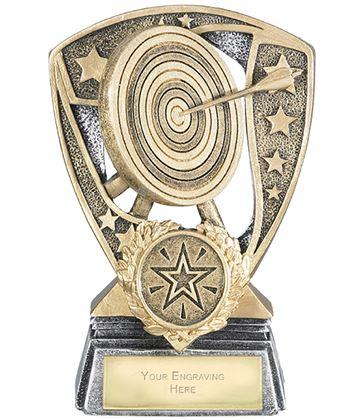 "Challenger Shield Archery Award 12cm (4.75"")"