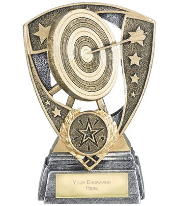 "Challenger Shield Archery Award 13cm (5.25"")"