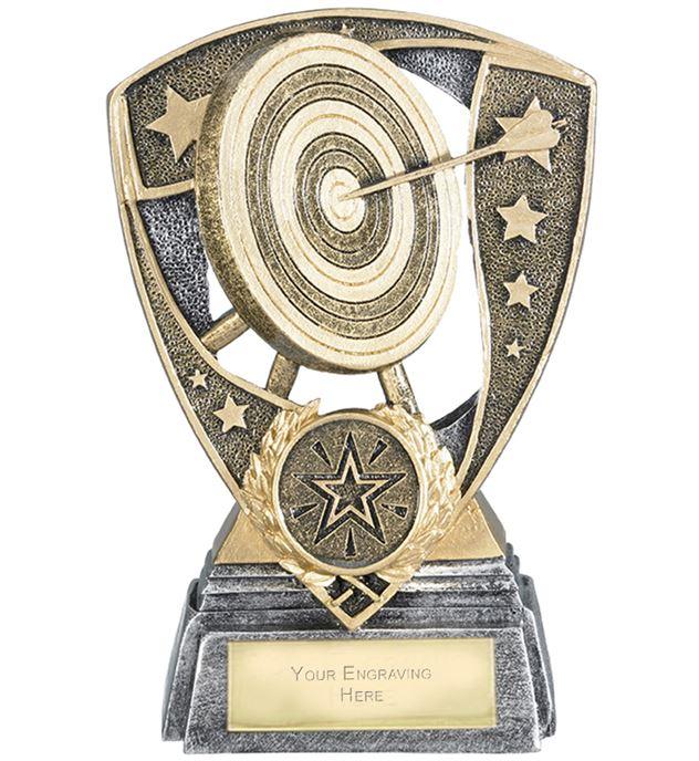 "Challenger Shield Archery Award 13cm (5.25"")"