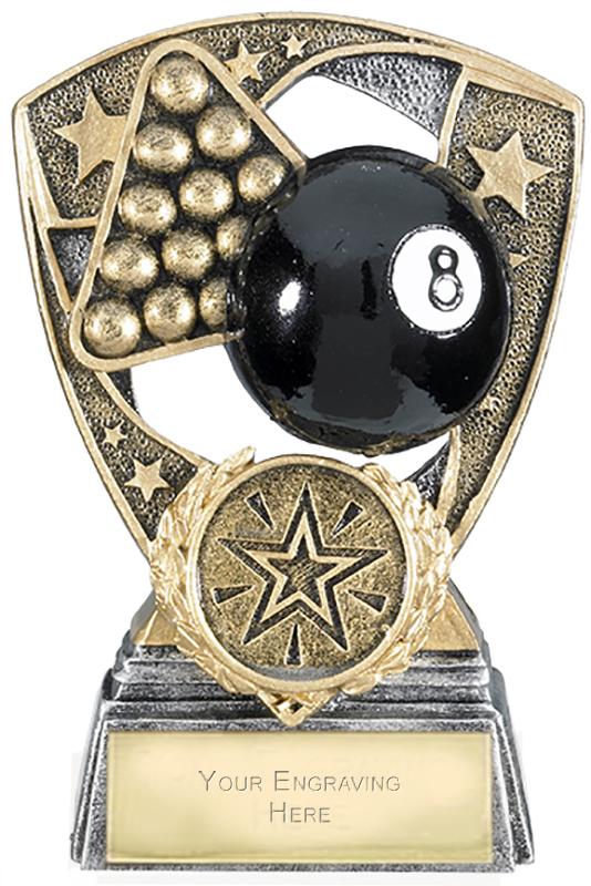 "Challenger Shield Pool Award 11cm (4.25"")"