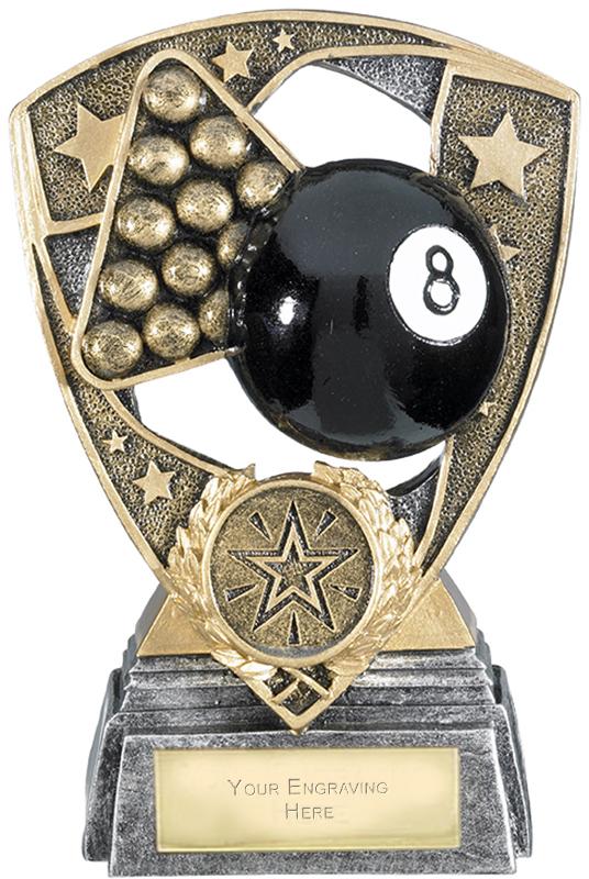 "Challenger Shield Pool Award 13cm (5.25"")"