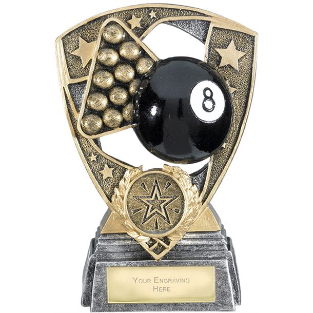 "Challenger Shield Pool Award 13cm (5.25"")"