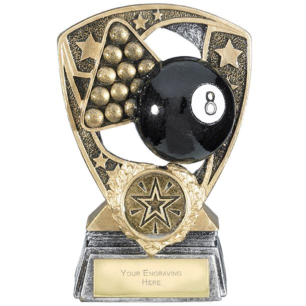 "Challenger Shield Pool Award 12cm (4.75"")"