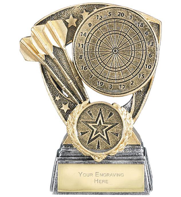 "Challenger Shield Darts Award 11cm (4.25"")"