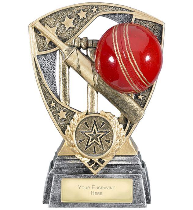 "Challenger Shield Cricket Award 13cm (5.25"")"