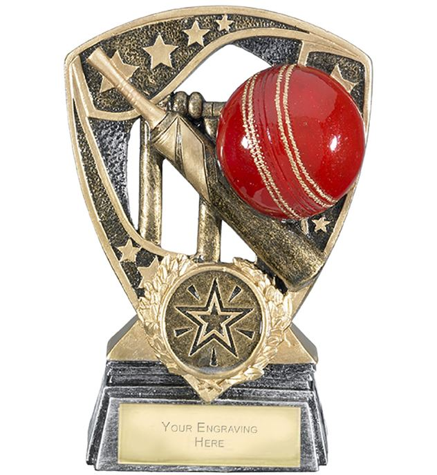 "Challenger Shield Cricket Award 12cm (4.75"")"