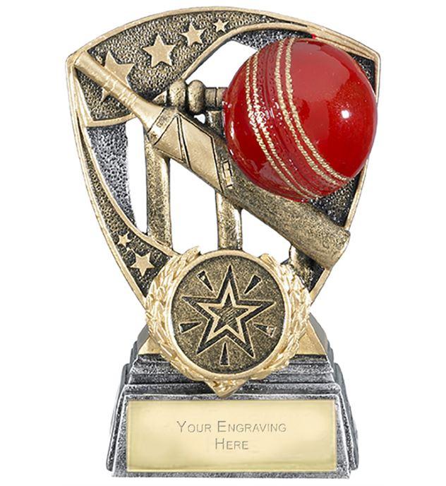 "Challenger Shield Cricket Award 11cm (4.25"")"