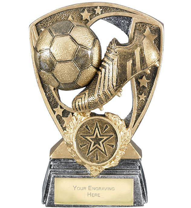 "Challenger Shield Football Award 12cm (4.75"")"