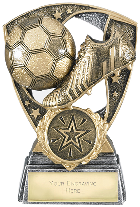 "Challenger Shield Football Award 11cm (4.25"")"