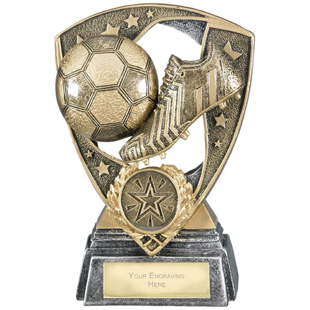 "Challenger Shield Football Award 13cm (5.25"")"