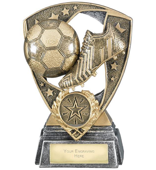 "Challenger Shield Football Award 13cm (5.25"")"